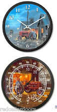 New FARMALL H 460 Tractor Clock and Thermometer Set DAVE BARNHOUSE Common Ground