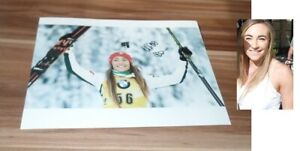 Dorothea-Wierer-Biathlon-Italia-Original-Firmado-Photo-20x25-cm-8x10