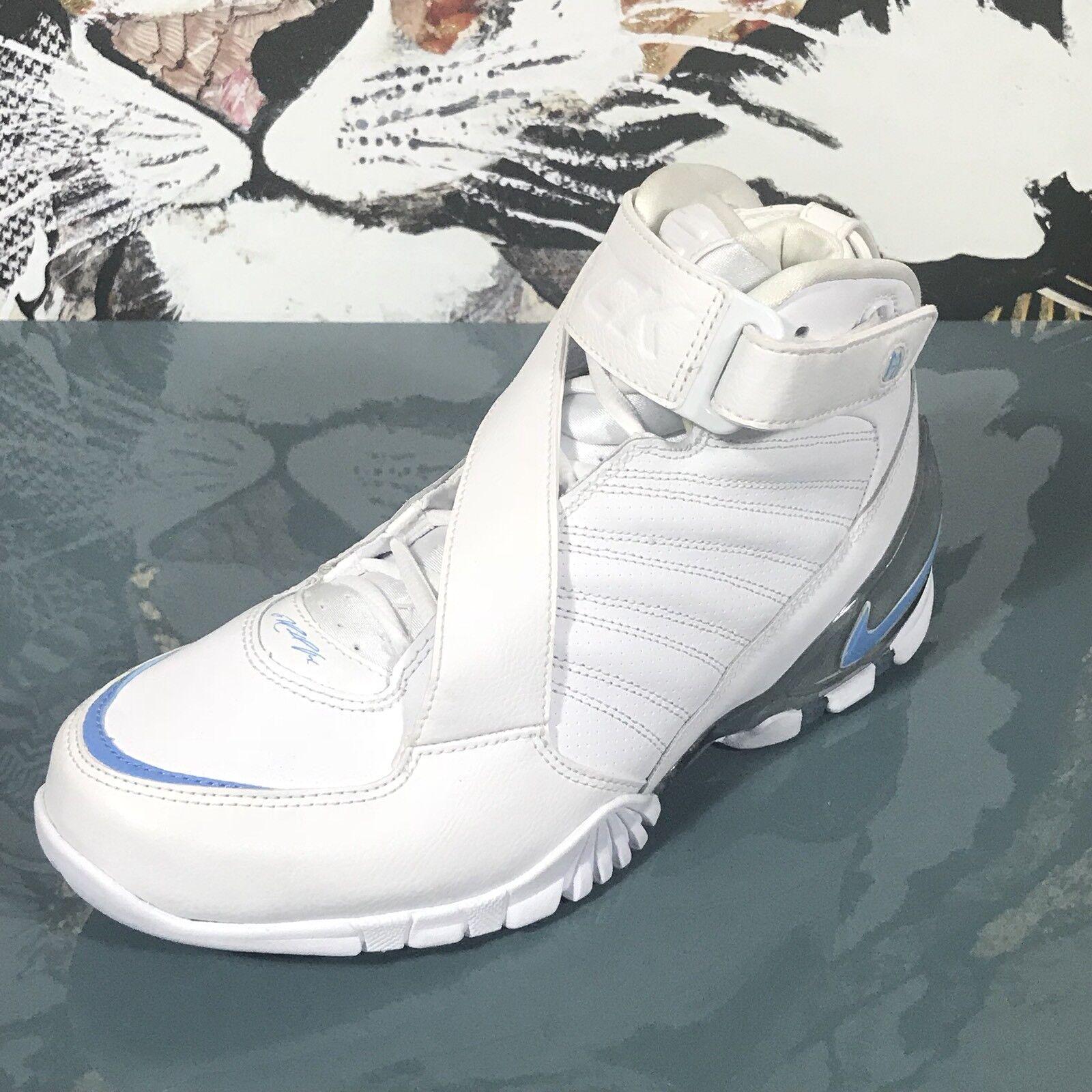 Cheap women's shoes women's shoes NEW NIKE Men's Zoom Vick III White University Blue Sneakers 832698 100 Comfortable