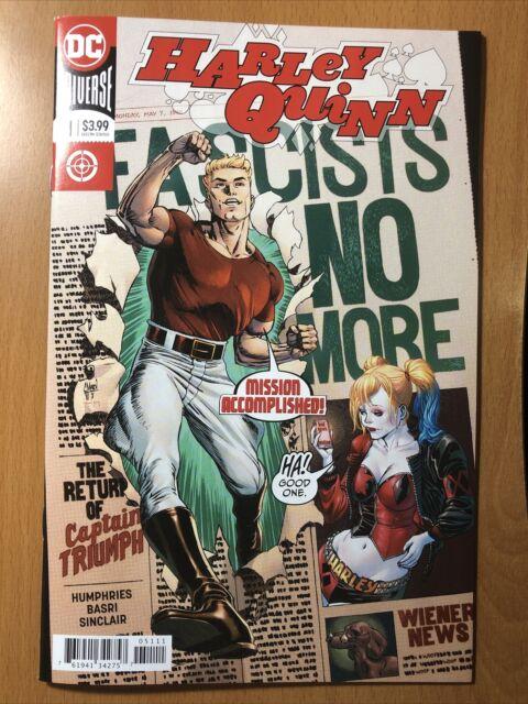 DC Comics Harley Quinn #51 Captain Triumph Appearance VF-NM