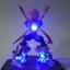 Rare-Dragon-Ball-Z-Vegeta-Power-Up-LED-Light-Power-Up-Figure-Kid-039-s-DIY-Toy-Gifts thumbnail 1