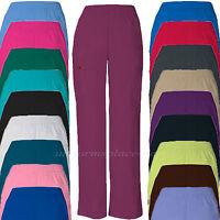 Dickies Scrubs Pants Women Eds Cargo Pocket Uniform Pant Elastic Waistband 86106