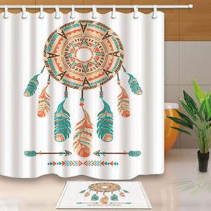 Brand new Mermaid Shower Curtain Waterproof Polyester Fabric /& 12hooks 71x71inch