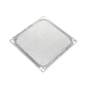 Lueftergitter-Aluminiumfilter-silber-92-x-92-mm-fuer-92-mm-Gehaeuseluefter