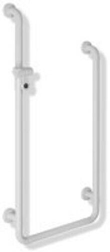 HEWI Duschhdl. U-Form Serie 801 d 33mm A1 1100 mm,A2 900 mm,W1 500 mm reinweiß