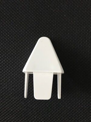 """12pc Picket Caps PVC Vinyl Fence Pyramid Point for 1-1//2/"""" x 1-1//2/"""" picket"""