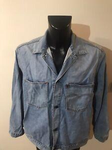 Détails sur Blouson Jean Levis Vintage 70511 Taille XL
