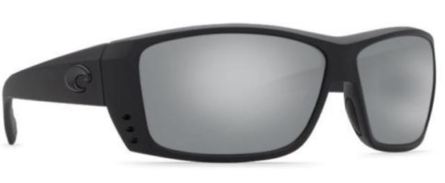 705943d18239f Costa Del Mar Polarized Sunglasses Cat Cay At01 OSCP Blackout silver ...
