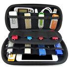 USB Flash Hard Drive Micro SD Memory Card Storage Pouch Case Holder Bag Black