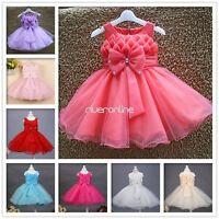 Mädchen Fest Kleid Kommunions Taufe Festlich Kommunionskleid Hochzeit Baby Kleid