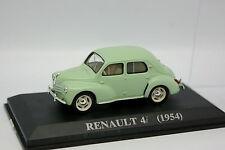 Ixo Presse 1/43 - Renault 4CV Vert d'eau 1954