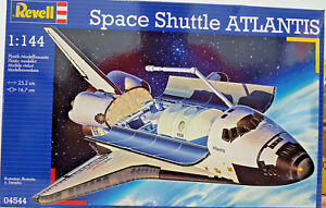 Rockwell-Space-Shuttle-Atlantis-NASA-ESA-Space-Revell-Kit-1-144-04544-Nuovo