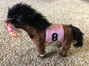 MINT* Ty Beanie Baby - BARBARO the Kentucky Derby Race Horse (8 Inch) 2006 NWT!!