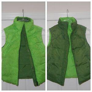 871211d7df16 NIKE Women Full Zip Reversible Green Lime Hunter Puffer Vest Size XS ...