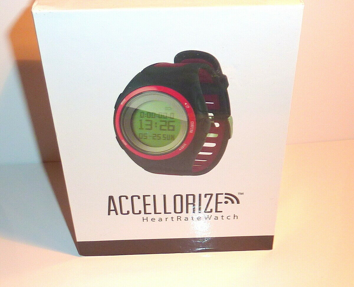 Heart Rate Watch   New In Box Stay  Heart Rate Cell Phone Sync For Cell Calls