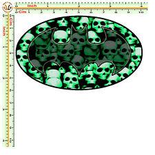 adesivo personalizzato sticker bomb batman skull auto moto tuning helmet 1 pz.
