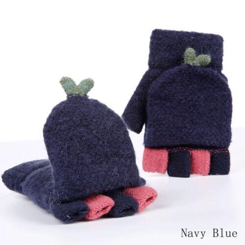 Mode Frauen Süße Winter Handwärmer Fingerlose Handschuhe Kaschmir Handschuhe