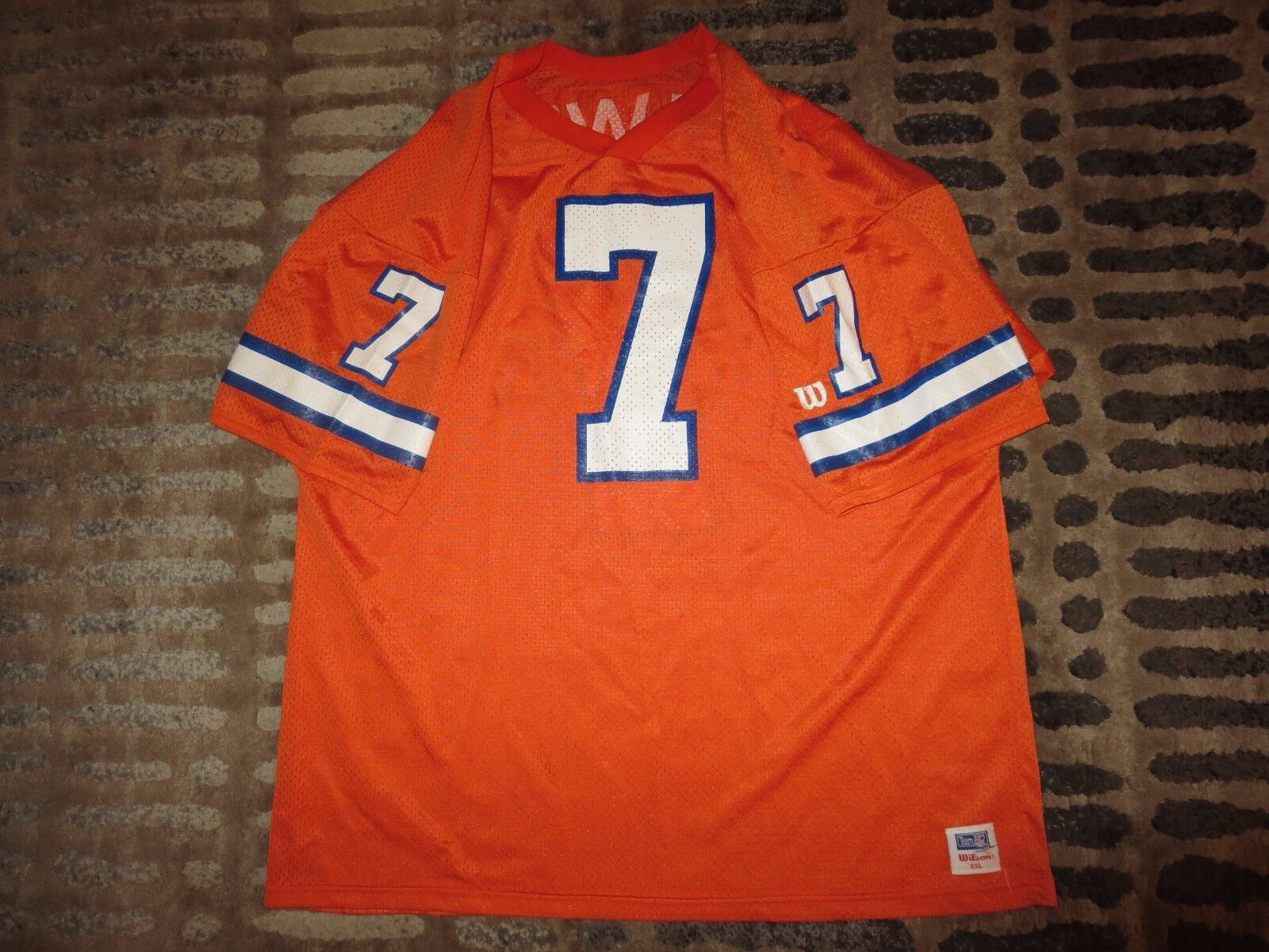 John Elway Denver Broncos NFL Wilson Camiseta XXL 2XL Rookie