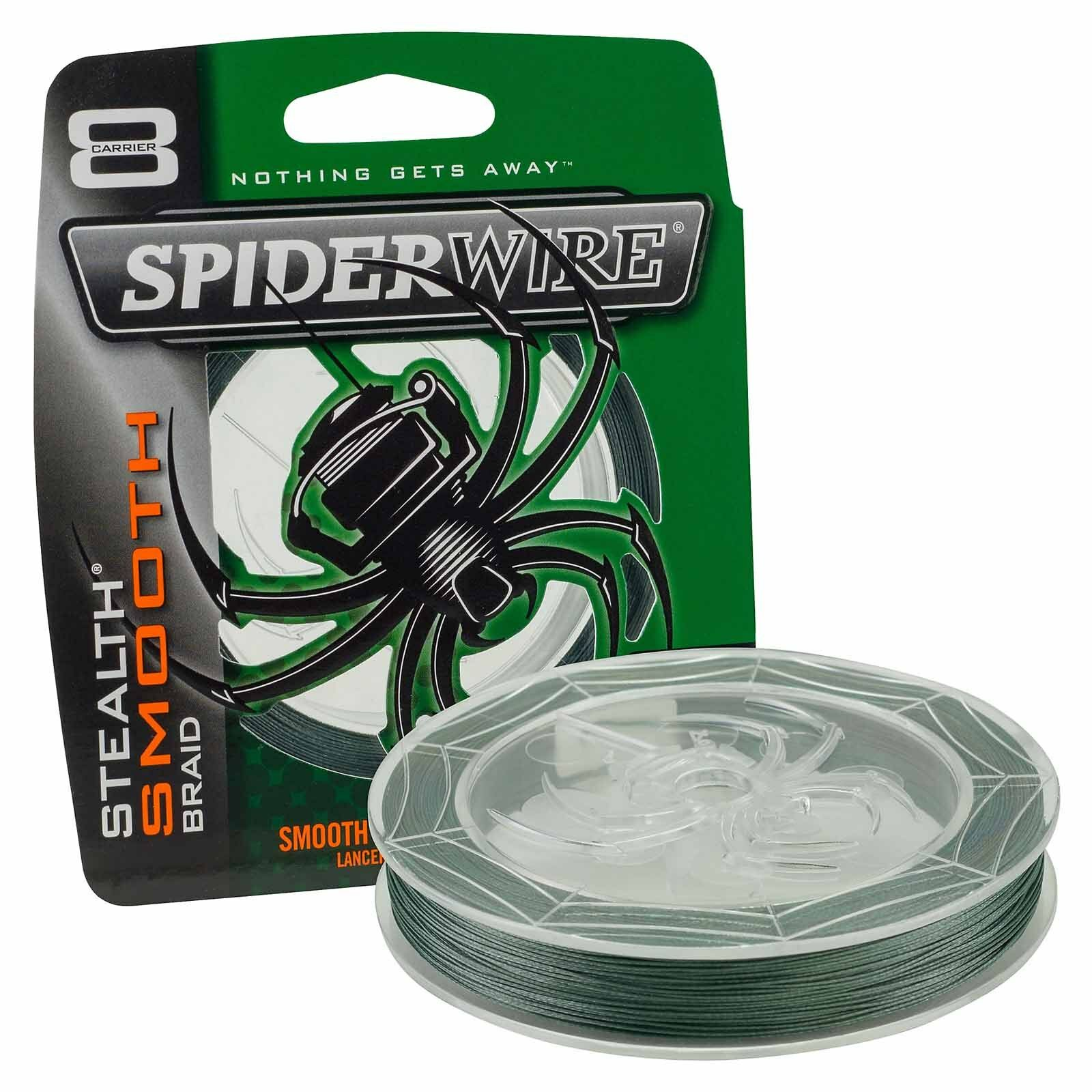 Spiderwire Superline Stealth Smooth 8 3000m Moss Green Braid Fishing  Line  brand outlet