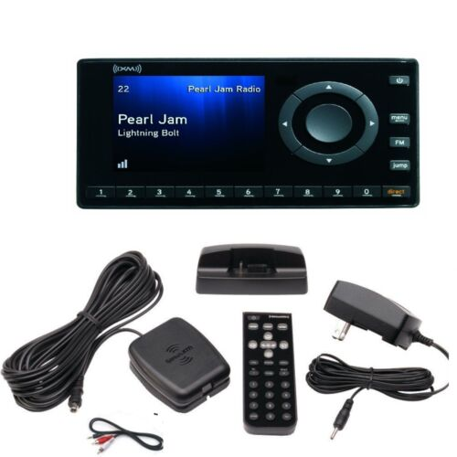 XM Onyx EZ XEZ1 Radio  and home kit charger,Antenna,Dock Cables