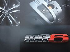 MG6 GT Brochure - MG6 GT S - SE - TSE   -   Free p&p