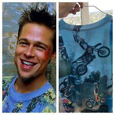NEW Tyler Durden Fight Club Motocross Shirt Op 523 Moto Rare Size XL Brad Pitt