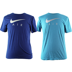 Nike-Air-Men-039-s-100-Cotton-Short-Sleeve-Crew-Neck-Tee-T-Shirt