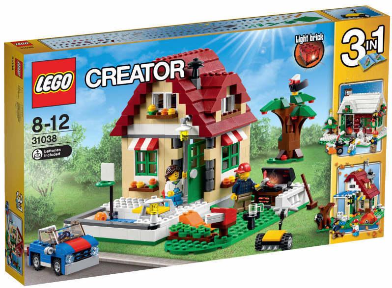 NEU LEGO® 31038 - Wechselnde Jahreszeiten 3 in 1 Set NEU & OVP