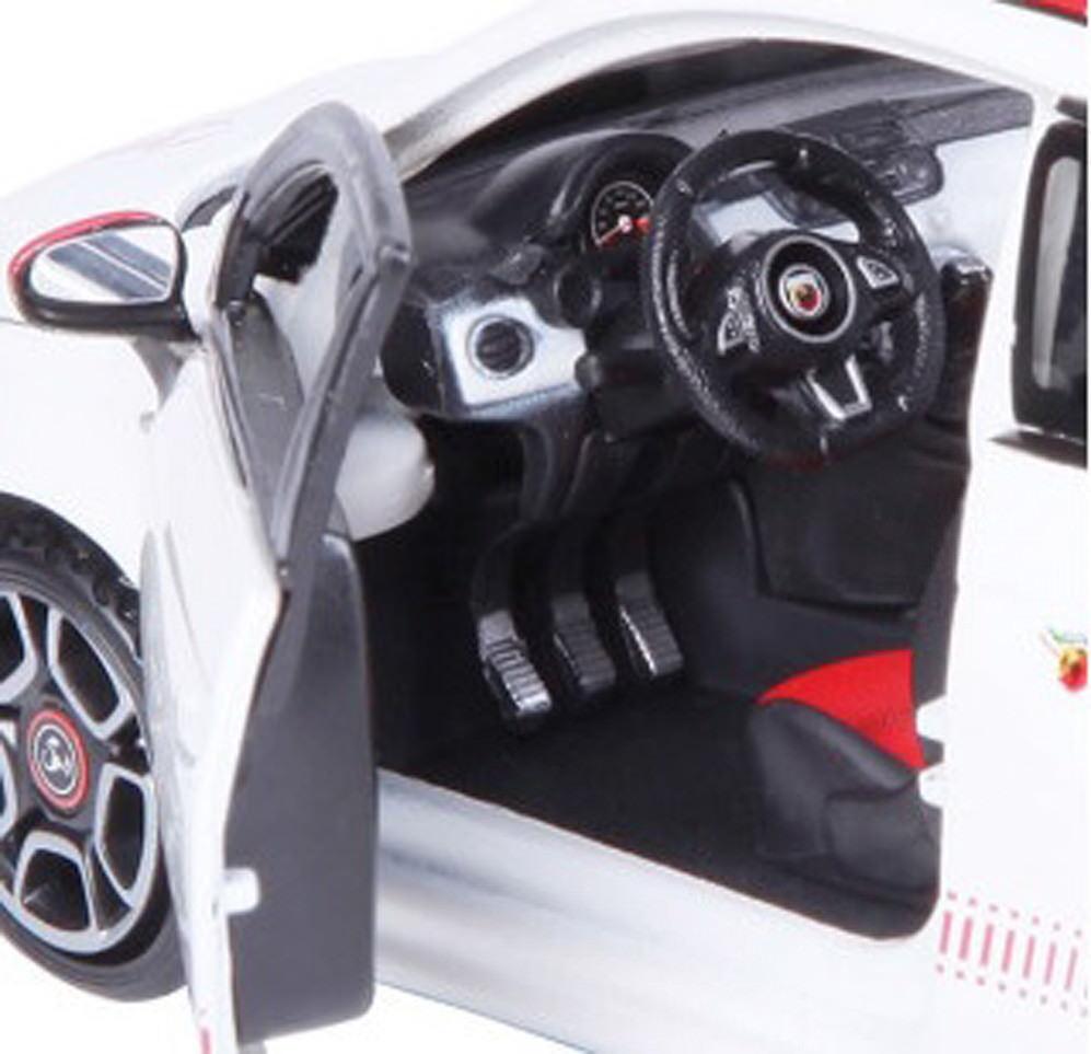 1 24 Scale - - - Fiat Abarth 500 Diecast Car Model Die Cast Cars Models Miniature 1f4919