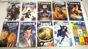 Doctor-Who-Comics-11th-Eleventh-Doctor-Lot-1-9-2012-Special-IDW-Titan-Comics