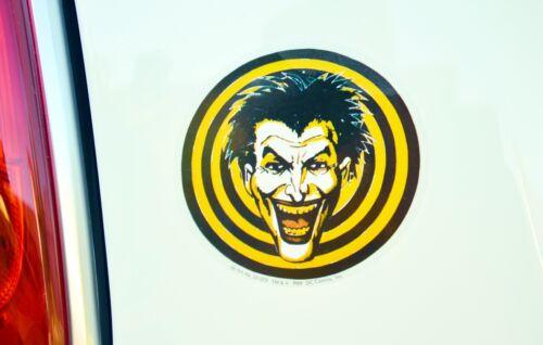Batman JOKER Aufkleber Auto Car Door Decal Sticker 10 cm original 1989