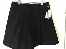 Comme Des Garçons Black Cotton Wide Leg Shorts / Dover Street Market  Size Med