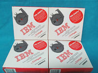 Lot Of 4 Ibm By Lexmark Quiet Iii High Yield Printer Ribbon 1299933