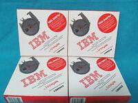 Lot Of 4 Ibm By Lexmark Quiet Iii High Yield Printer Ribbon 1299933