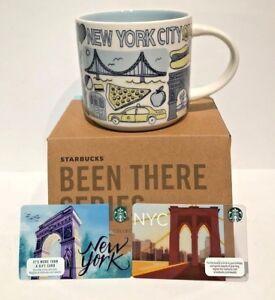 Starbucks-NYC-Coffee-Mug-Cup-Been-There-Series-Statue-Of-Liberty-Cab-2-Bonus