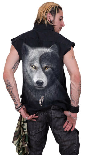 Catcher Stone Chi native Wolf Direct Spiral dream Washed Worker Sleeveless shirt wvqIxxOH