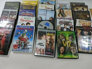 DVD-Lot-Of-23-Mixed-Genre-Horror-Musicals-Christmas-Family-amp-Action