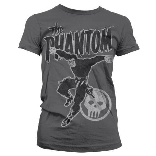 Phantom Jump Distressed Women T-Shirt S-XXL Officially Licensed The Phantom