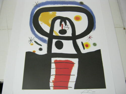 """Joan Miro  Lithograph /"""" Equinox /"""" Plate-Signed Limited Edition"""