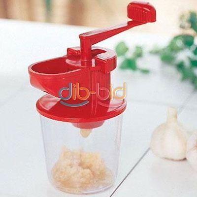 Garlic Mincer Crusher Grinder Press Kitchen Gadget Tool SSCA