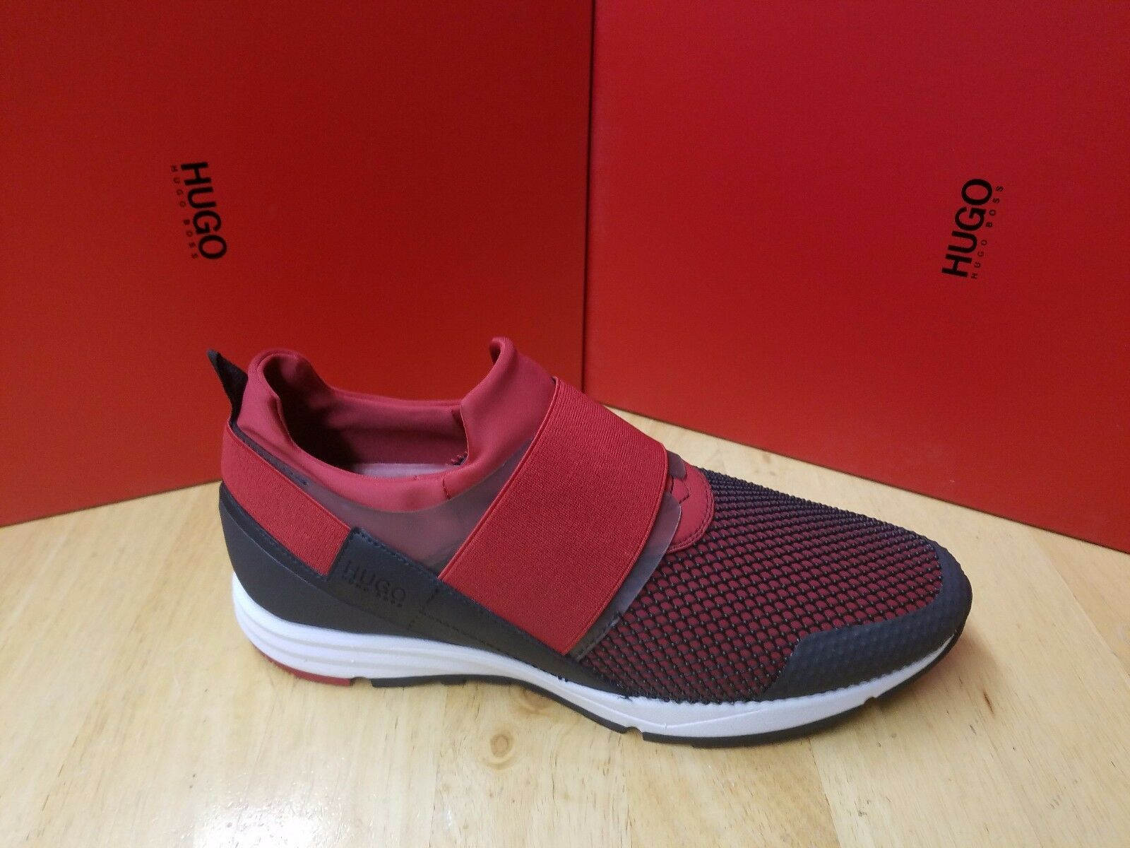 HUGO HUGO BOSS RED - Men's Trainers Hybrid Run MXNET In Open Red 640