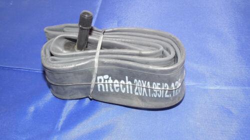 Schlauch AV Reifen RITECH 20 Zoll Hinterrad BMX schwarz 48L 50-406 bereift