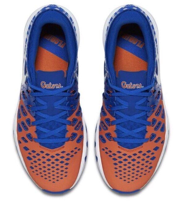 Nike Mens Florida Gators Train Speed 4 Amp Shoes Sneakers Sz 10.5 Rowdy Reptiles