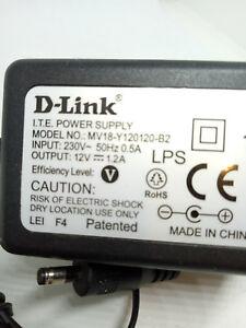 D-Link AC-DC Adapter MV18-Y120120-B2 12V 1.2A DC 3 Pin UK ITE Power supply PSU