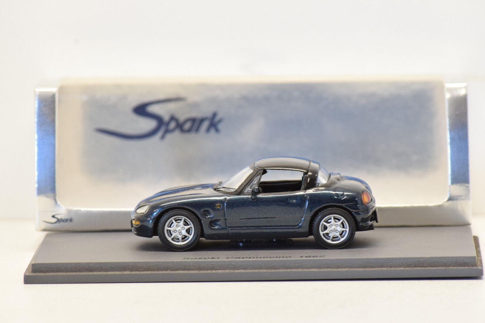 orden ahora disfrutar de gran descuento SUZUKI CAPPUCCINO 1992 DARK DARK DARK verde SPARK 1 43 NEUF EN BOITE  compras online de deportes