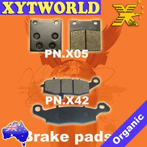 FRONT-REAR-Brake-Pads-SUZUKI-GS-500-2004-2005-2006-2007-2008