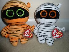 ddcaac056fa Ty Halloween 2017 Beanie Boo Clips Set of 2 Mask and Mummy for sale ...