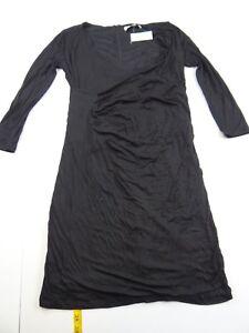 Loft Taylor Vestito con Petite Xs Xspm Ann Maternity nero Nwt arricciatura laterale 74fwwq6B