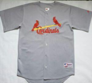 best authentic d3b72 3201d Details about Vintage St Louis Cardinals Rawlings Authentic Collection  Jersey Size 48