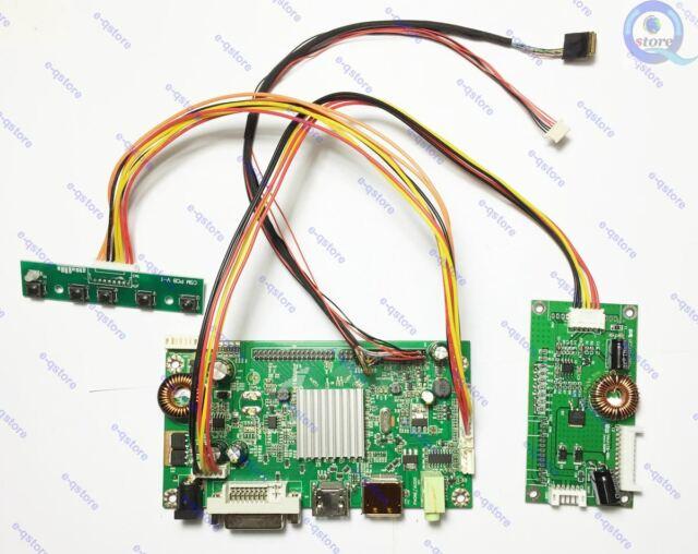 HDMI VGA DVI Controller Driver Board Kit for 2560×1440 2k LCD Lm270wq1-sde3